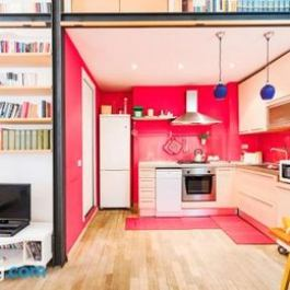 Colourful flat in the heart of Rome