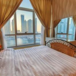High End Sea View in Dubai Marina Balcony Pool